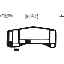 RHD Mercedes Connecto  Dash Trim Kit 3M 3D 2-Parts