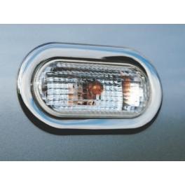 SEAT Ibiza/Cordoba Mk3 6L  Side Marker Indicator Repeater Trims Chrome S. Steel 304