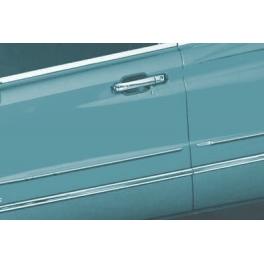SSANGYONG KYRON   Door Mouldings Trims 4 Pieces Chrome S. Steel 304