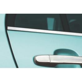 TOYOTA Auris   Windows Trims 4 Pieces Chrome S. Steel 304