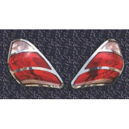 TOYOTA Rav-4 Mk3  Tail Lights Trims Chrome S. Steel 304