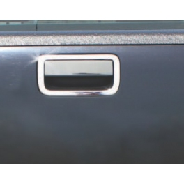 VOLKSWAGEN Amarok   Boot Lid Handle Trim Cover 2 Pieces Chrome S. Steel 304