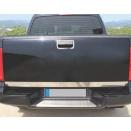 VOLKSWAGEN Amarok   Rear bumper protector  Chrome S. Steel 304