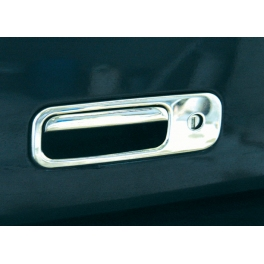 VOLKSWAGEN Caddy Mk3 2K  Tailgate Handle Cover 2 Pieces Chrome S. Steel 304