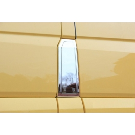 VOLKSWAGEN Crafter   Fuel tank cover  Chrome S. Steel 304