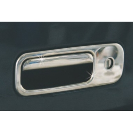 VOLKSWAGEN Golf Mk4  Tailgate Handle Cover 2 Pieces Chrome S. Steel 304