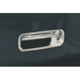 VOLKSWAGEN Lupo   Tailgate Handle Cover 2 Pieces Chrome S. Steel 304