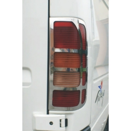 VOLKSWAGEN LT   Tail Lights Trims Chrome S. Steel 304