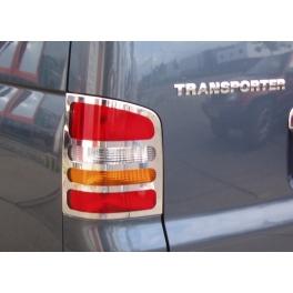 VOLKSWAGEN T5  Barn Doors Tail Lights Trims 2 Pieces Chrome S. Steel 304
