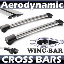 Hyundai Matrix   Whispbar Roof Rack Cross Bars Set