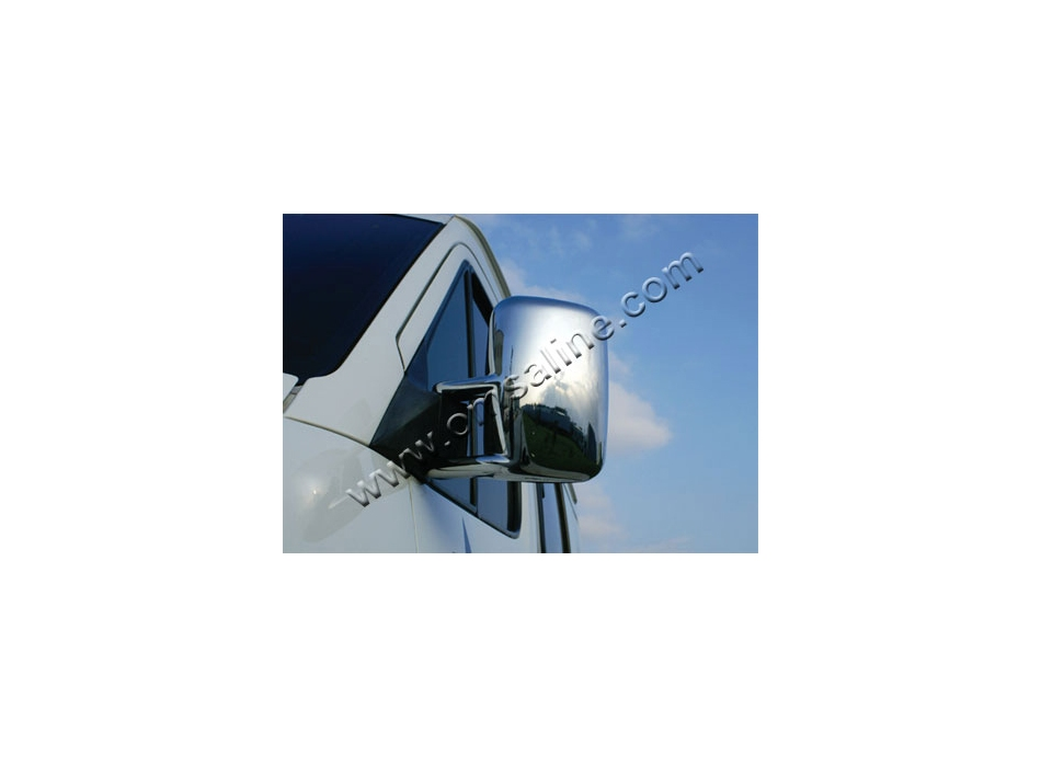 mercedes sprinter mk1 w901 903 wing mirrors covers abs chromed. Black Bedroom Furniture Sets. Home Design Ideas