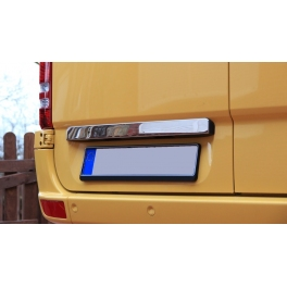 MERCEDES Sprinter Mk2 W906  Tailgate Grip Trim Cover  Chrome S. Steel 304