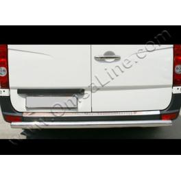 MERCEDES Sprinter Mk2 W906  Rear bumper protector  Chrome S. Steel 304