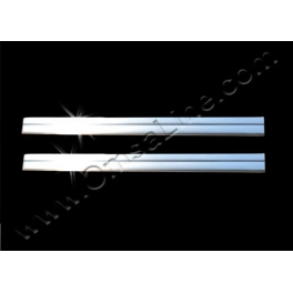 NISSAN JUKE   Door sills 2 Pieces Chrome S. Steel 304