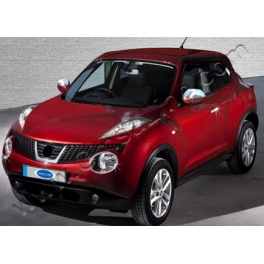 NISSAN JUKE   Wing Mirrors Covers Chrome S. Steel 304