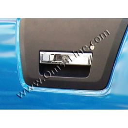 NISSAN NAVARA D40  Tailgate Handle Cover  Chrome S. Steel 304