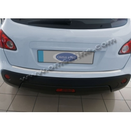 NISSAN Qashqai   Rear bumper protector  ABS Chromed