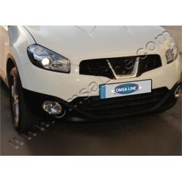 NISSAN Qashqai  Facelift Fog Spot Lights   Trims ABS Chromed