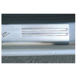 VAUXHALL Astra Mk4/G/II  Door sills 2 Pieces Chrome S. Steel 304