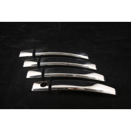 VAUXHALL Astra Mk5/H/III  Door Handle Covers 4 Pieces Slim Chrome S. Steel 304