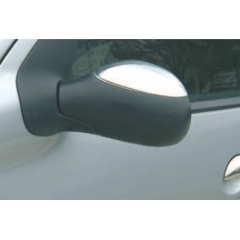 PEUGEOT 206   Wing Mirrors Covers Chrome S. Steel 304