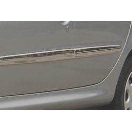 PEUGEOT 206   Door Mouldings Trims  Chrome S. Steel 304