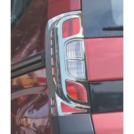 PEUGEOT Bipper   Tail Lights Trims AbS Chromed