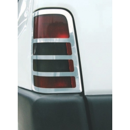 PEUGEOT Partner Mk1  Tail Lights Trims Chrome S. Steel 304