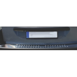 PEUGEOT Partner Mk2  Rear bumper protector  Chrome S. Steel 304