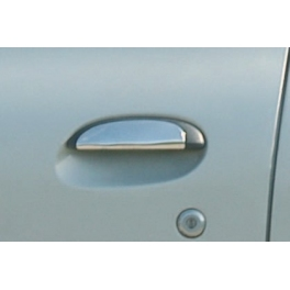 RENAULT CLIO Mk2  Door Handle Covers 2 Pieces Chrome S. Steel 304