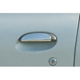RENAULT CLIO Mk2  Door Handle Covers 2 Pieces Chrome S. Steel 304