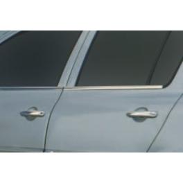 RENAULT CLIO Mk3  Windows Trims 4 Pieces Chrome S. Steel 304