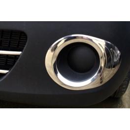 RENAULT Kangoo Mk2  Fog Spot Lights   Trims Chrome S. Steel 304