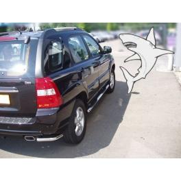 KIA Sportage Mk2 Rear Corner Bars RCB01