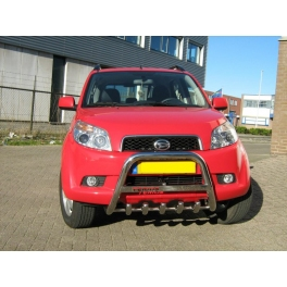 DAIHATSU Terios Mk2 Front Bull-Bar With Bottom Grille and Logo FGBM02