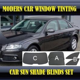Stores rideaux pare-soleil sur mesure pour Audi A4 B8 2008-2013 3 fenêtres+2 quarters 13 supports