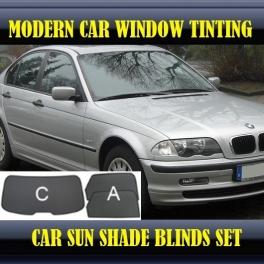 Stores rideaux pare-soleil sur mesure pour BMW 3 SERIES E46 1998-2006 3 fenêtres 16 supports