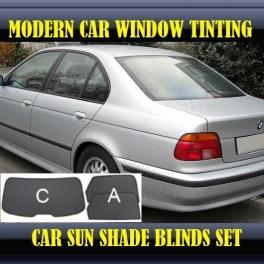 Stores rideaux pare-soleil sur mesure pour BMW 5 SERIES E39 1996-2004 3 fenêtres 14 supports