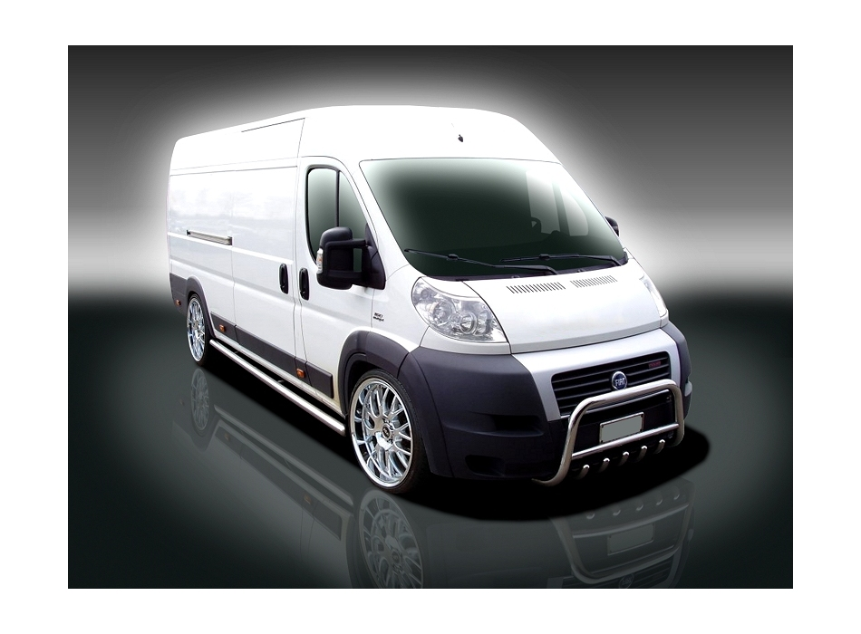Fiat Ducato Mk3 Front Bull Bar With Bottom Grille Fgbm01