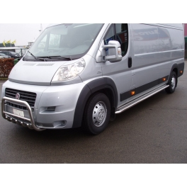 FIAT Ducato Mk3 Front Bull-Bar With Bottom Grille and Logo FGBM02