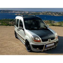 renault kangoo mk1 front bull bar with bottom grille and. Black Bedroom Furniture Sets. Home Design Ideas
