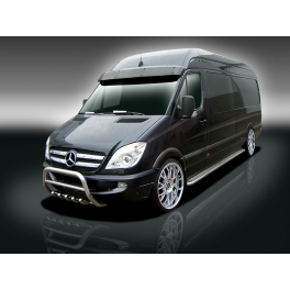 Mercedes sprinter mk2 w906 front bull bar with bottom for Mercedes benz sprinter bull bar