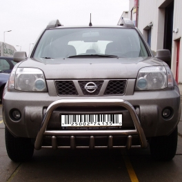 Nissan X Trail Mk1 T30 Front Bull Bar With Bottom Grille