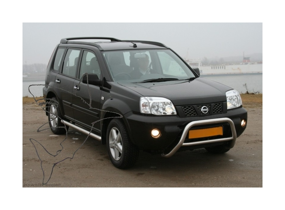 Nissan X Trail Mk1 T30 Side Bars B1 Ssb01