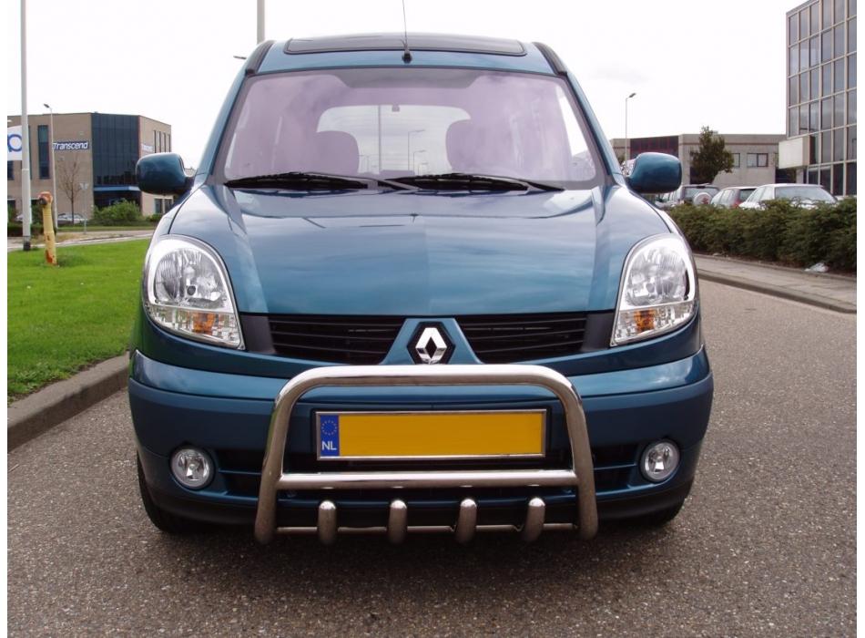 Renault Kangoo Mk1 Front Bull Bar With Bottom Grille Fgbm01