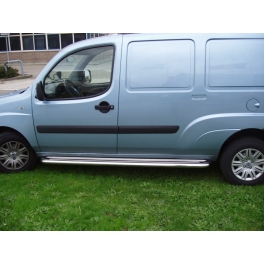 FIAT Doblo Mk1 S.Steel Running Boards SSC02