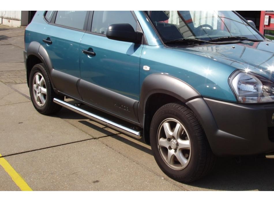 Hyundai Tucson Mk1 Side Bars B1 Ssb01