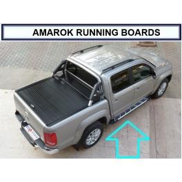 Volkswagen Amarok 2009 up  Magnifique Marche pieds aluminium Exclusive Designs V1, V2, V3
