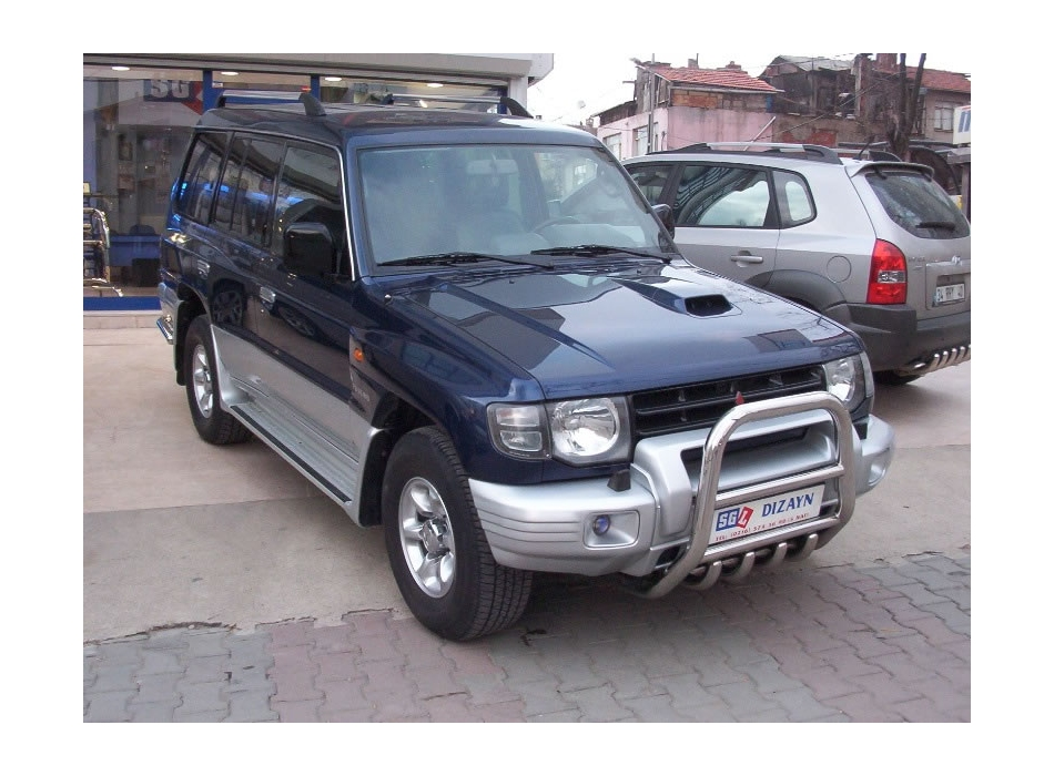 Mitsubishi Pajero Shogun Mk3 Front Bull Bar With Bottom