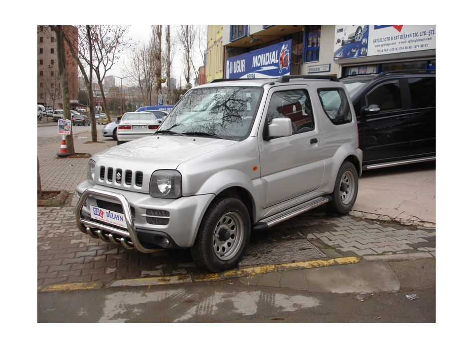 Suzuki Jimny Front Bull Bar With Bottom Grille Fgbm01